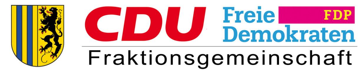 Fraktionsgemeinschaft CDU/FDP Chemnitz