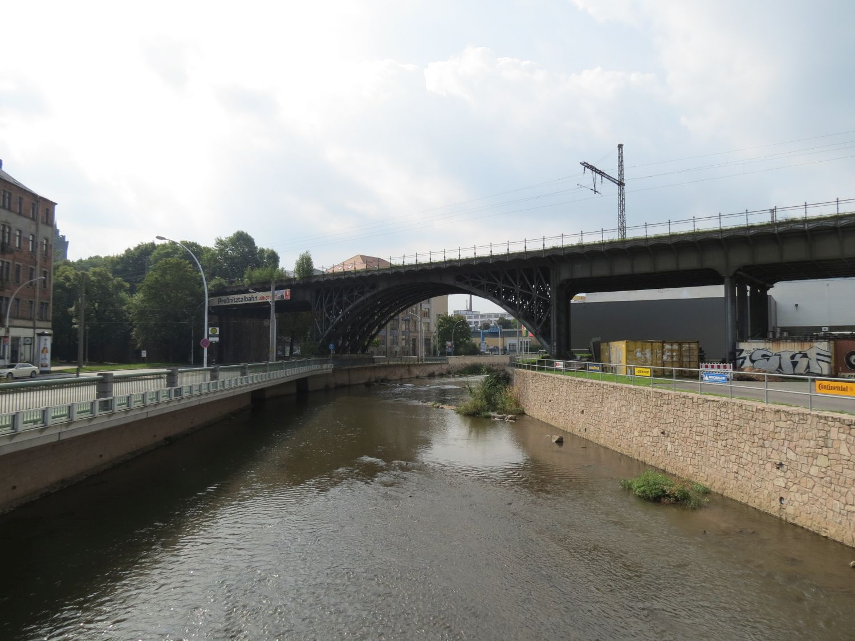 Chemnitz Viadukt Annaberger Straße